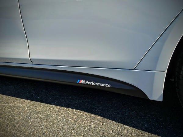 BMW M Performanceサイド・スカート・フィルム&BMWディラー工賃