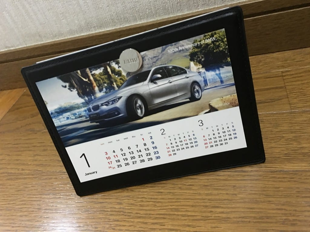 2016 BMWオリジナルカレンダー