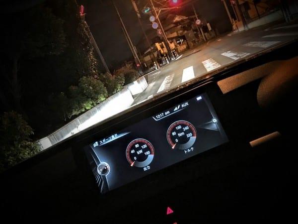【BMW420i GC】夜ドライブ♪
