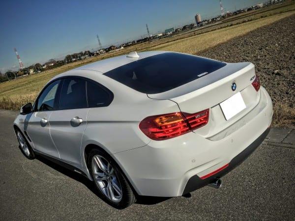 【BMW420i GC】ウィンドウフィルム「ルミクールSD」^^同IKC社カーフィルム「シルフィード」との違いを調べてみました