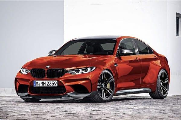 BMW M2 GrandCoupe Sakhir Orange