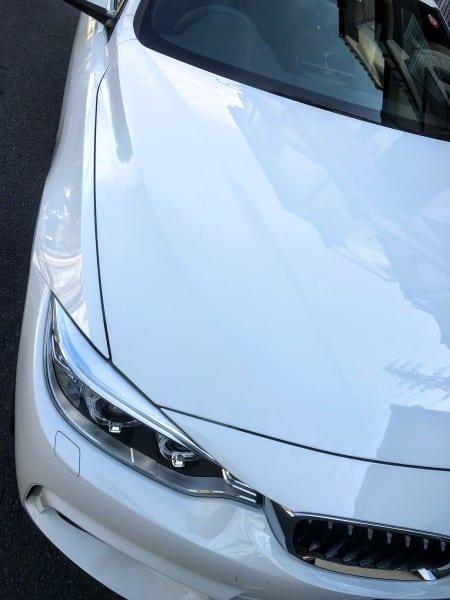 2月の観測史上最高温度の中、洗車3回目^^【BMW4シリーズグランクーペ】