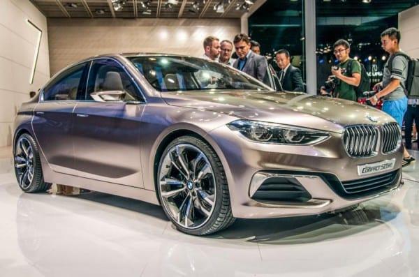 BMW2シリーズグランクーペのスパイショット!?BMWのFRプラットフォーム「CLAR」採用のコンパクト4ドアクーペ♪