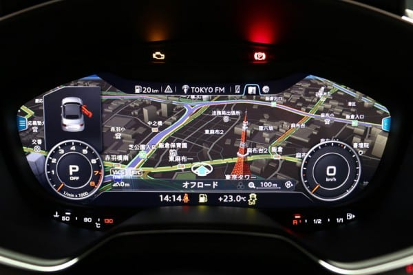 アウディ新型A4が発売されましたね♪メーターパネル内にナビも表示できるバーチャルコックピットってすごいかも^^