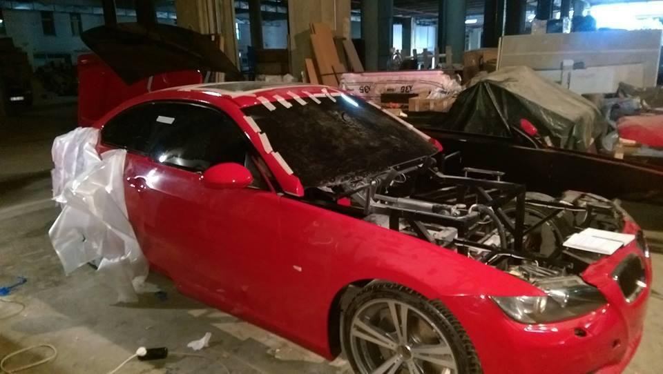 衝撃!BMW3シリーズクーペ(E92)が変身して、、、まさか○○に。。。