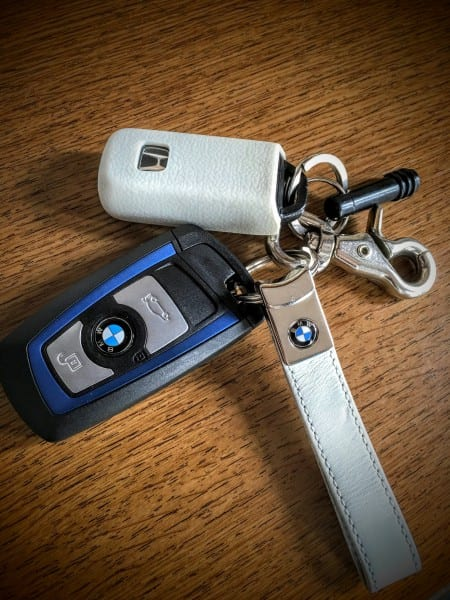 BMW新車納車時のキーホルダーについて