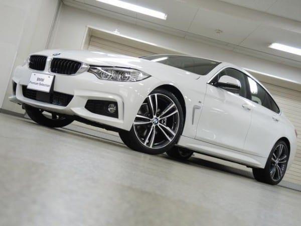 BMW4シリーズグランクーペ200台限定車「IN STILE」の新古車が販売中^^気になる値段は?