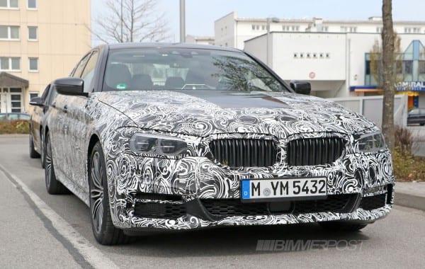 BMW 5 series M sport 1