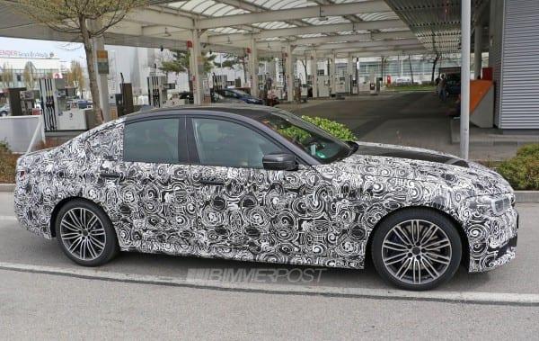 BMW 5 series M sport 4