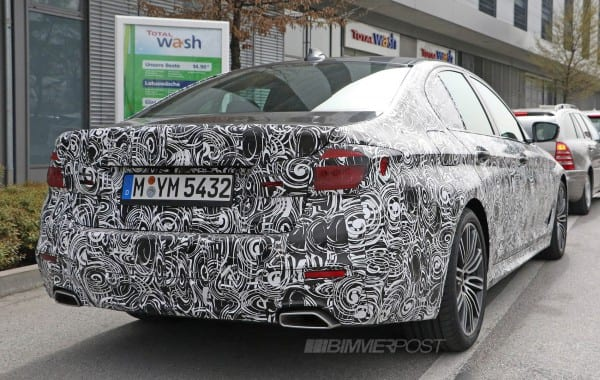 BMW 5 series M sport 6