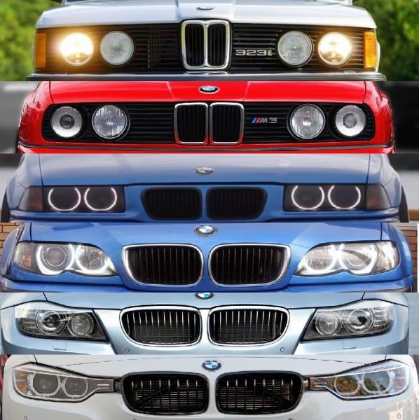 BMW E21 E30 E36 E46 E90 F10
