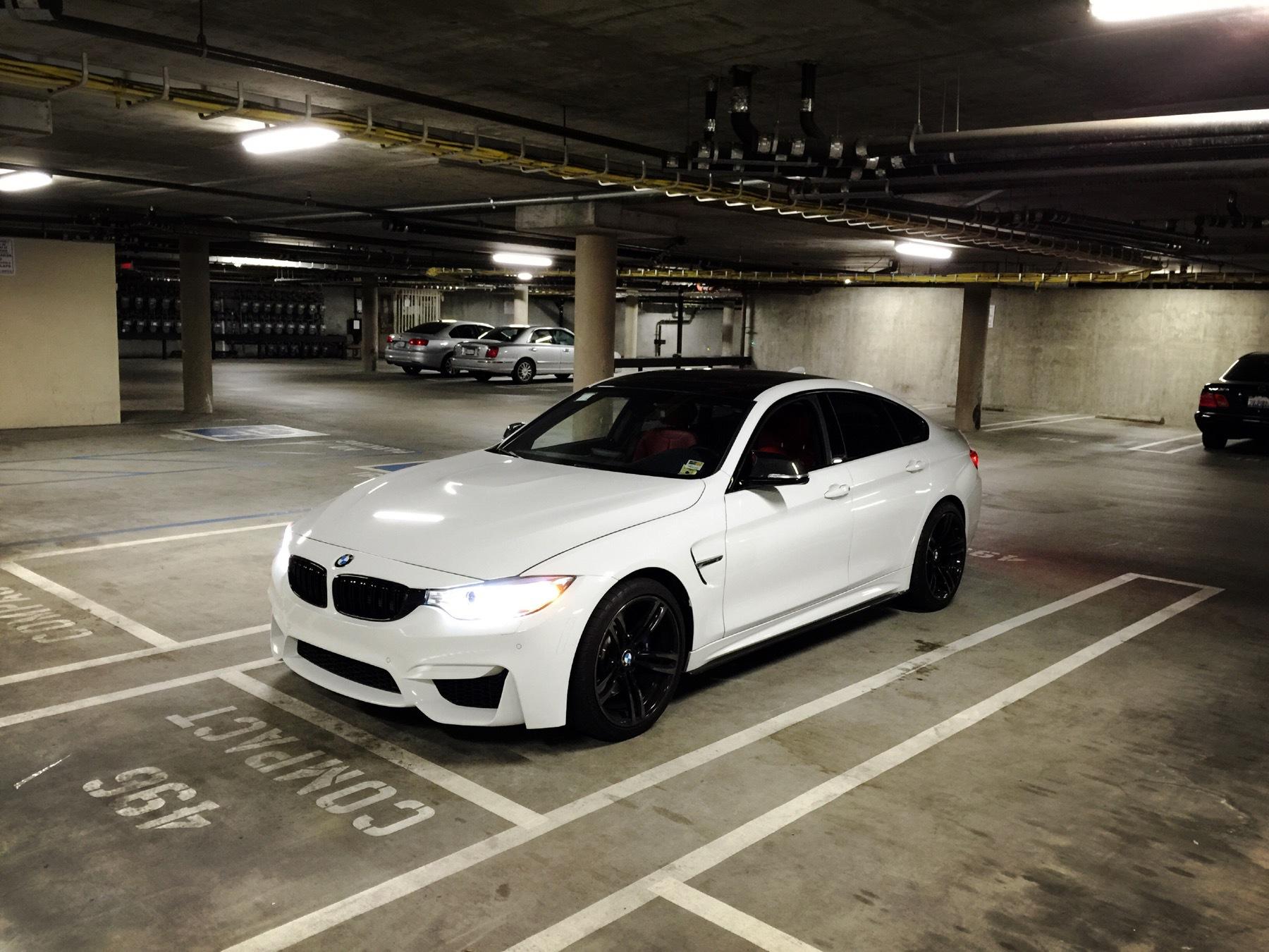 BMW M4グランクーペが出ないので4シリーズグランクーペ(435i)をM4風ルックにモディした強者が出現!