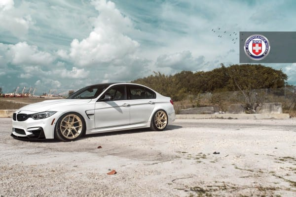 White-BMW-M3-with-HRE-R101-Wheels-6