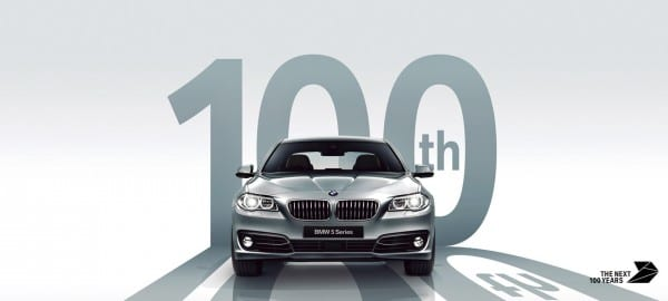 BMW100週年を記念してBMW5シリーズ(F10,F11)100万円サポートキャンペーン!