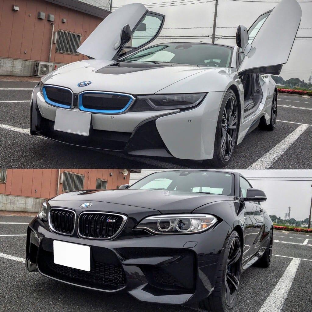気になるクルマ【BMW i8】【BMW M2】2台まとめて試乗してきました^^【前編・i8試乗編】