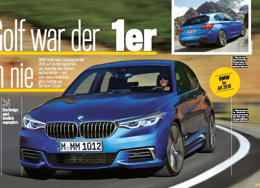 次期BMW1シリーズF40の最新レンダリングCG画像^^