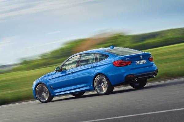 BMW3シリーズグランツーリスモ(F34)LCIでLED化と新エンジン搭載!3シリーズGTといえば「アクティブ・リアスポイラー」かな^^