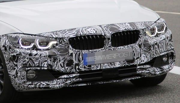 BMW4シリーズグランクーペLCIモデルの初のスパイショット!ヘッドライトのLED化・デザイン変更、テールライトLED化など