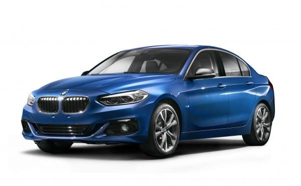 BMW1シリーズセダンの正式プレスリリース発表!写真が公開されました。