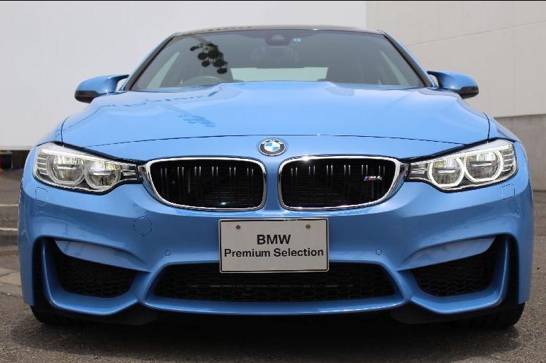 BMW M4クーペ(F82)、M3セダン(F80)の魅力的なボディーカラーの認定中古車^^どの色が好みですか?
