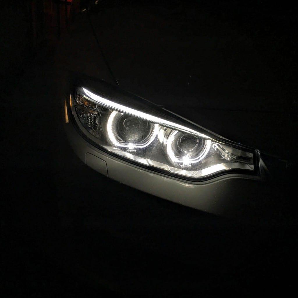 BMW4シリーズグランクーペ(F36)のオートライトが一旦点灯すると明るくなってもオフにならない。。。