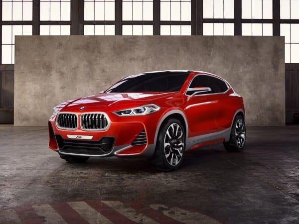 BMW X2のコンセプトカーがパリモーターショーで初公開されました♪