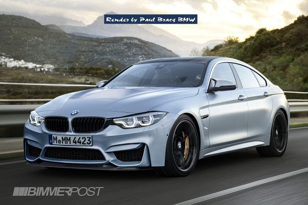 2017 M4 Gran Coupe Render Lowered-S