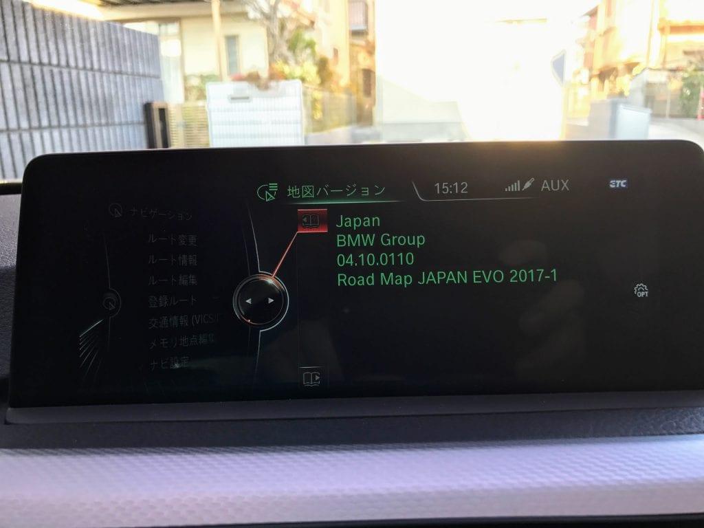 BMWコネクテッドドライブにてUSBマップアップデート「Road Map JAPAN EVO 2017-1」に更新完了!How To USBマップアップデート【後編】