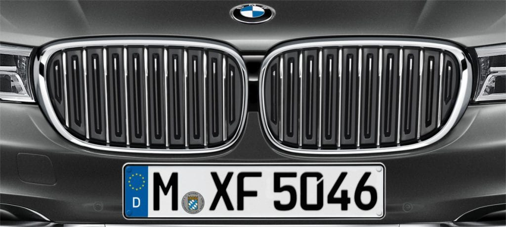 BMWのキドニーグリルはアクティブ・エア・ストリームを採用した開閉式キドニー・グリルが主流になっていくのか?