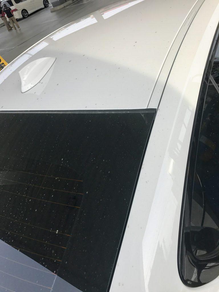 洗車しました^^この時期は黄砂や花粉ですぐに汚れて辛いですよね。。。