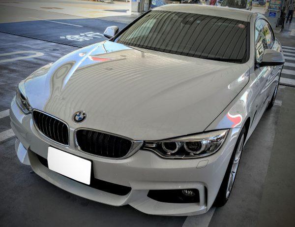 BMWのグリルとボンネット切れ目のデザインについて。ちょこっと画像加工してみました^^