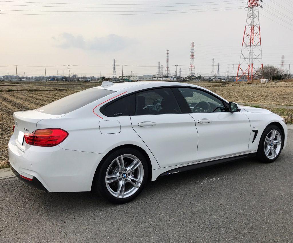 BMWの特徴的なデザインといえば「ホフマイスター・キンク」は外せないですね^^