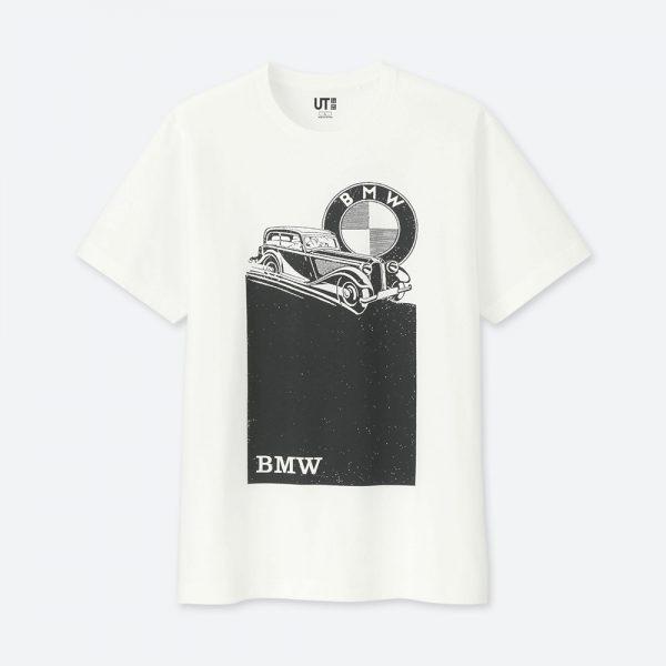 BMWとユニクロのコラボTシャツ(990円)が発売されたので、ネットで全種類注文してみた^^