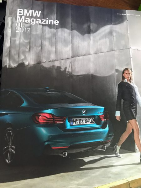 BMW Magazine 01.2017が届きました^^特集記事は4シリーズLCI♪