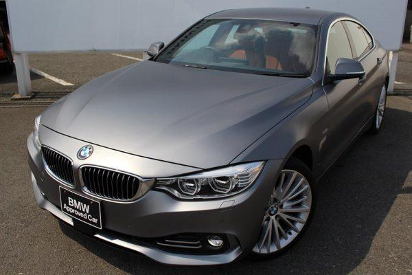 超レアなINIDIVIDUALカラーフローズングレー(マット系)BMW440iグランクーペLuxuryの中古車が販売中!