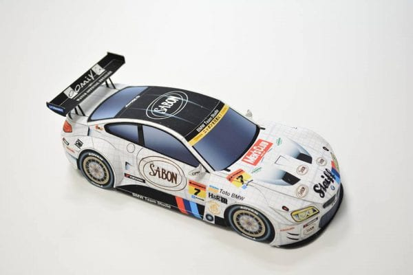BMW COMPLETE最新号vol.70が本日発売♪BMW Team StudieのM6 GT3ペーパークラフトが綴じ込み付録^^