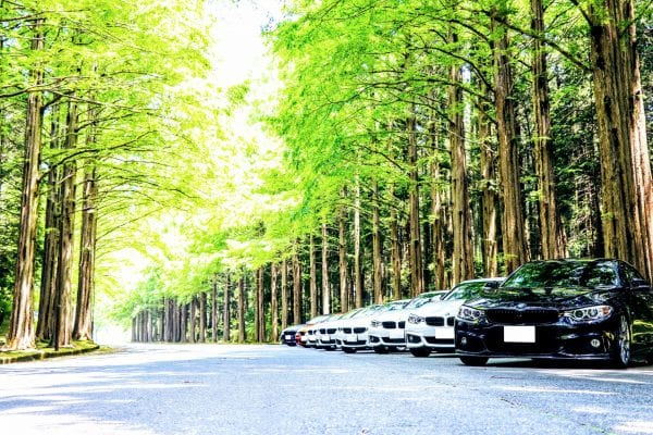 BMW 4er Gruppe JP「土用の4の日」うなぎオフ会レポート^^メタセコイア並木~鰻~MAZDAターンパイク
