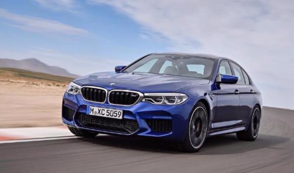 BMW新型M5(F90)今夜発表前にまたもやリーク画像が出回る^^;