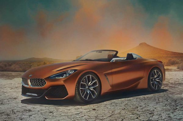 BMW新型Z4コンセプト(G29)画像がペブルビーチ・コンクールデレガンス前にリーク!しびれるカッコよさ^^