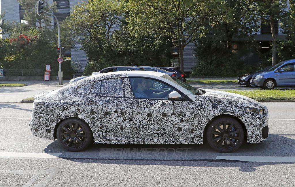 BMW2シリーズグランクーペ(F44)のスパイショット!!2019年後半に登場か!?