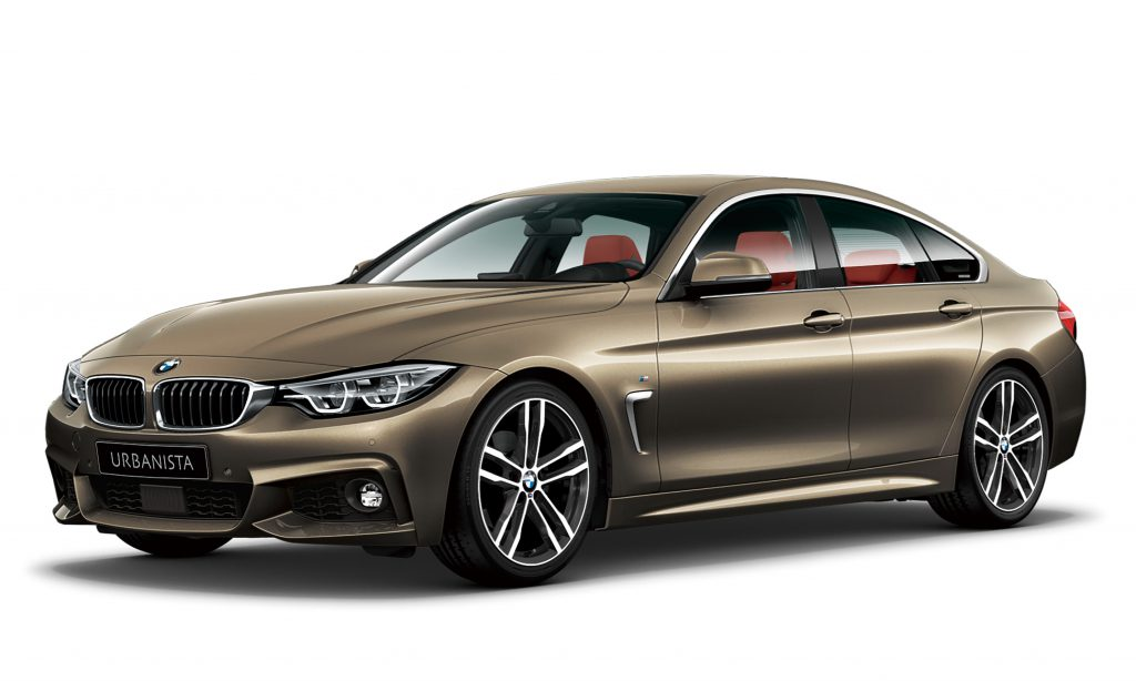 BMW4シリーズグランクーペのIndividualボディカラーな地域限定車「URBANISTA」発売!今度は中国・四国・九州・沖縄地区で45台限定販売!