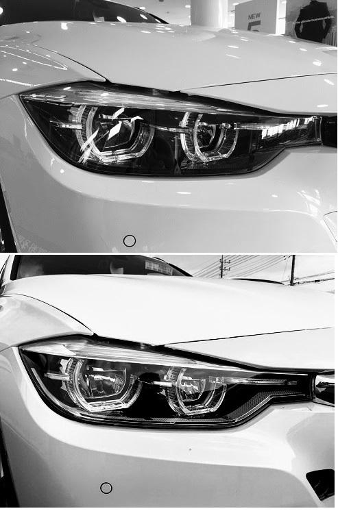 BMW1シリーズや3シリーズの限定モデル「Edition Shadow」のダーク・カラーLEDヘッドライトと通常ヘッドライトの違いは?