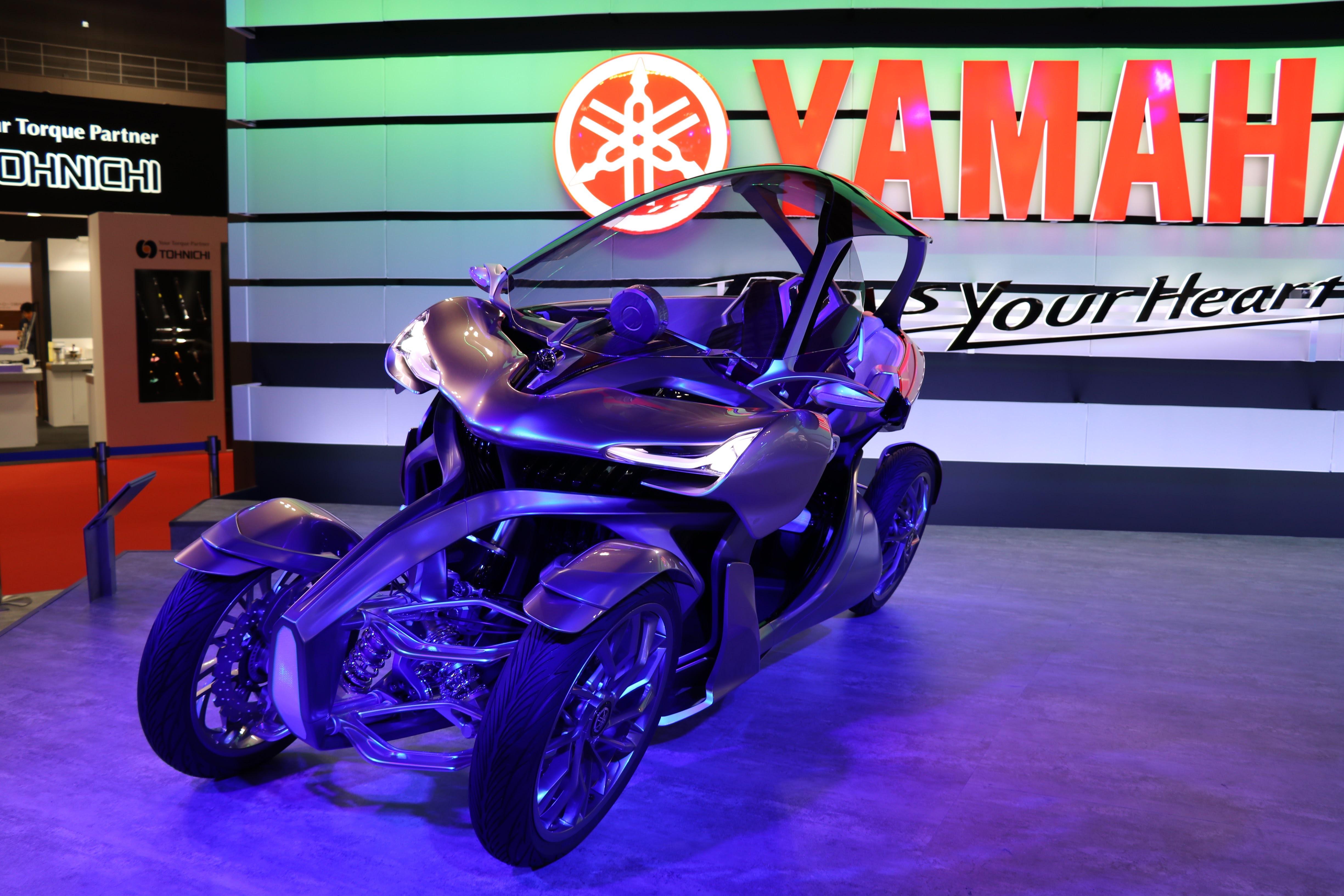 【ヤマハ、スズキ編】東京モーターショー2017に行ってきました♪ヤマハの4輪モデル「CROSS HUB CONCEPT」、ハスラーをワイド化したスズキ「XBEE(クロスビー)」写真&インプレ・レポートvol.11