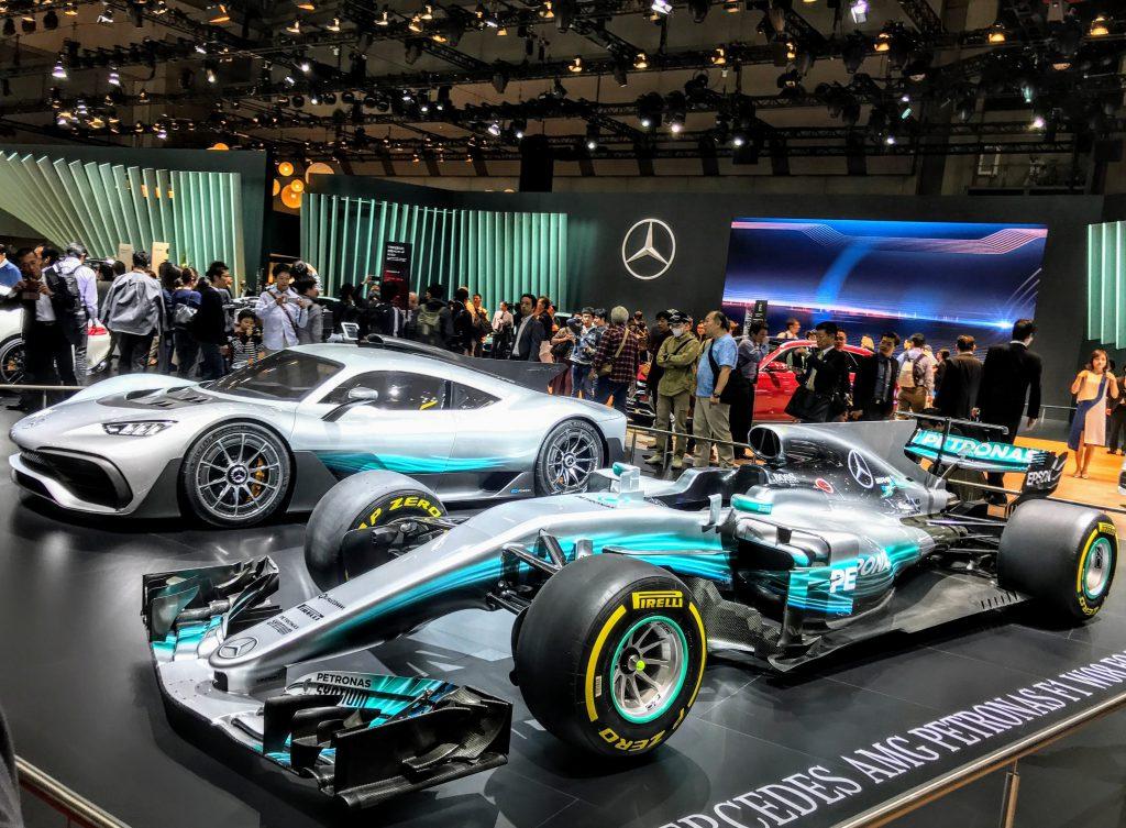 【メルセデス・ベンツ編】東京モーターショー2017に行ってきました♪世界初の公道走行用F1モデル「メルセデスAMG Project ONE」など写真&インプレ・レポートvol.4