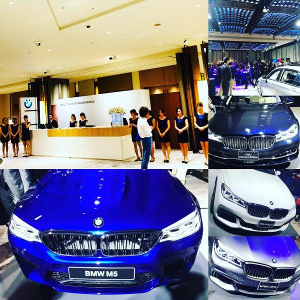 BMWの六本木ヒルズのグランドハイアットで開催されたVIPイベント「THE ULTIMATE DRIVING EXPERIENCE」に参加してきました^^