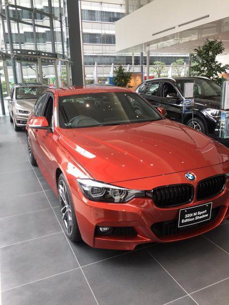 BMW3シリーズの限定モデル「M Sport Edition Shadow」が通常カタログモデルとして継続販売!選ぶなら新色のサンセット・オレンジのボディ・カラーをチョイスしたいかな♪