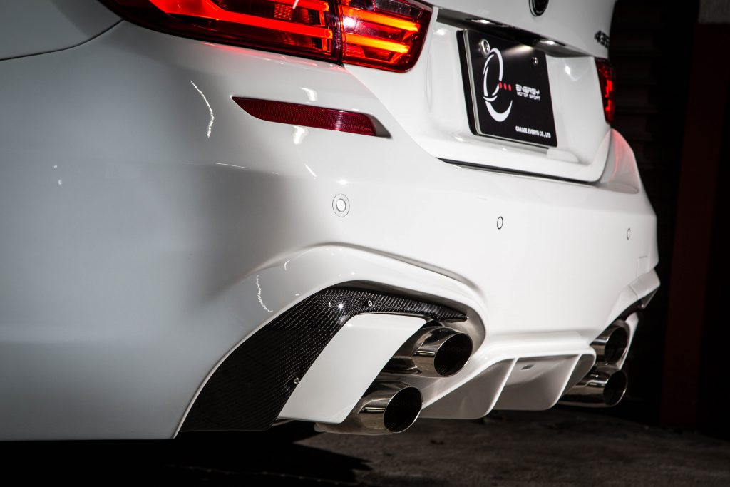 "Garage EVE.RYNからBMW4シリーズ(F32/33/36)向け爆音マフラー「ENERGY MOTOR SPORT ""Valvetronic Exhaust System for BMW 4 Series""」が発売!"
