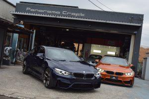この世に存在しないM4グランクーペが日本に2台も!!BMW4シリーズグランクーペ(F36)に前後M4純正パーツ全移植という超豪華なモディ♪