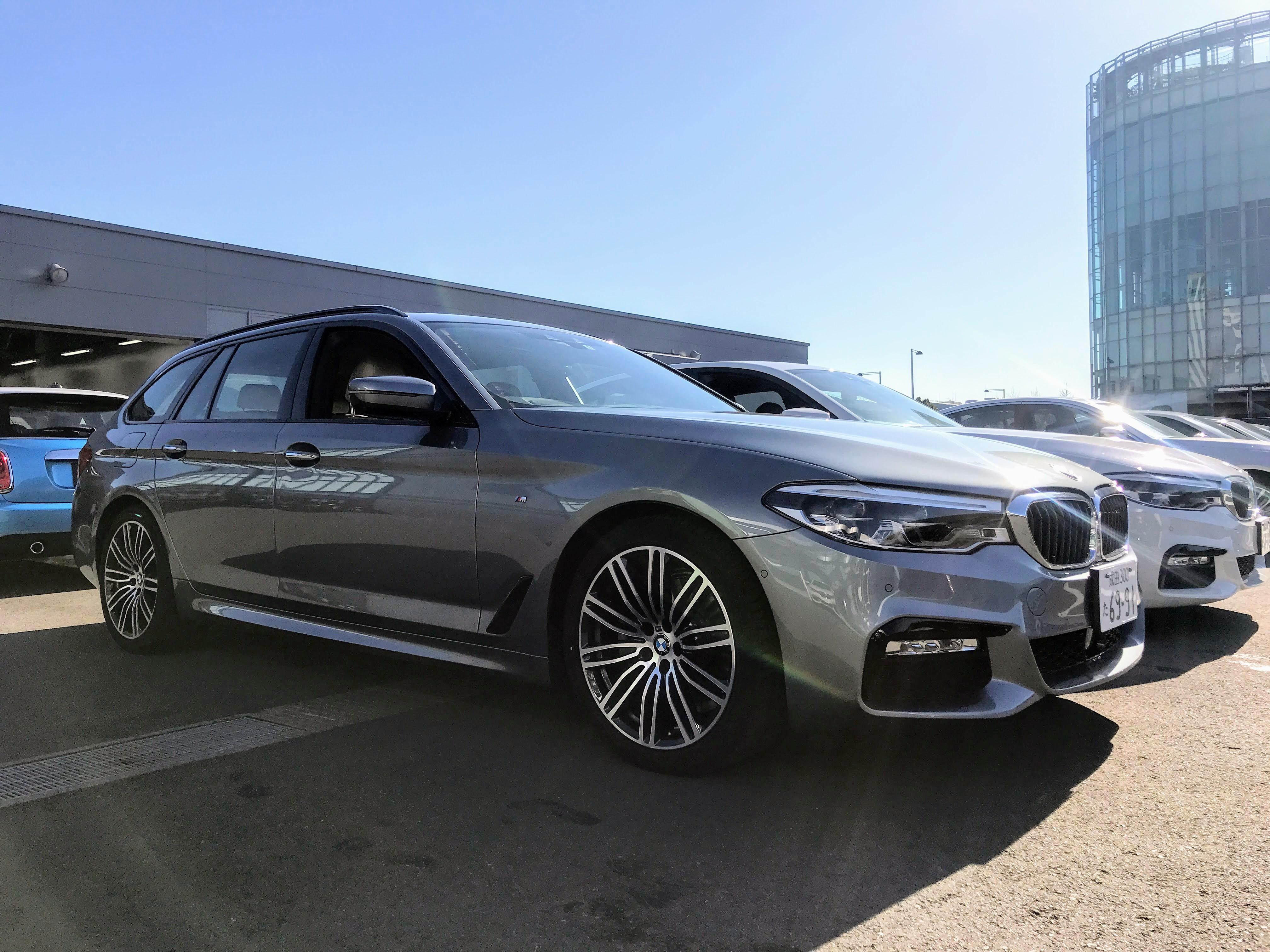 新型BMW5シリーズツーリング(G31)523d M Sport試乗レビュー^^【BMW GROUP TOKYO BAY 初訪問編・試乗レポート】vol.2