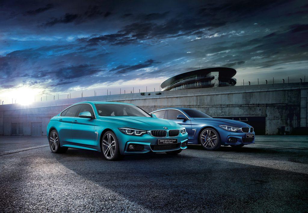 BMW4シリーズグランクーペの限定車「IN STYLE」に走りにこだわったファスト・トラック・パッケージを搭載した300台限定車「In Style Sport」が発売!「In Style」との比較など^^